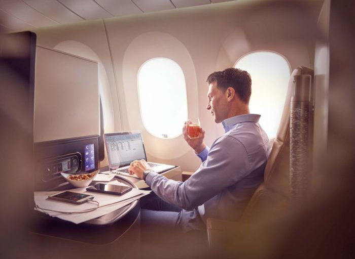 Etihad consistently offers great service, coupled with one of the best business class seats in the skies on its 787, discovers Nick Walton.