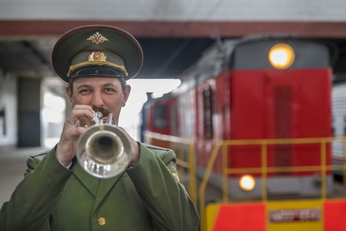 The Golden Eagle Trans-Siberian Express traces Russia's rich history, but the world's longest train journey needn't be without its creature comforts.