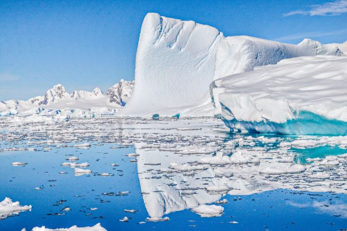 Nick Walton plays polar explorer on an unforgettable adventure to the Antarctic Peninsula aboard Aurora Expeditions' Polar Pioneer. Credit: Nick Walton