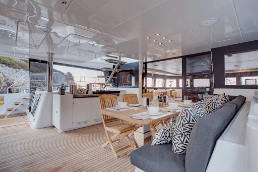 If you've always wanted to explore the east Indonesian archipelago of Raja Ampat, Meridian Adventure Sail has 62-foot catamarans with your name on them.