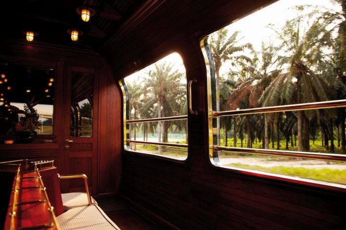 Nick Walton explores the lush landscapes of Southeast Asia aboard the region's most luxurious train, Belmond's Eastern & Oriental Express.