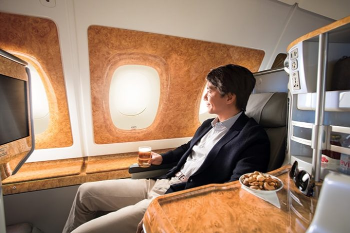 Maggie Chooi finds innovation and comfort in equal measure on a recent flight from Hong Kong to Dubai on Emirates' flagship Airbus A380.