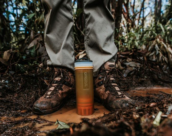 Whether you're cruising the Arctic on an expedition ship or exploring the forests on foot, it's always important to have clean water at hand, and that's where Grayl comes in.