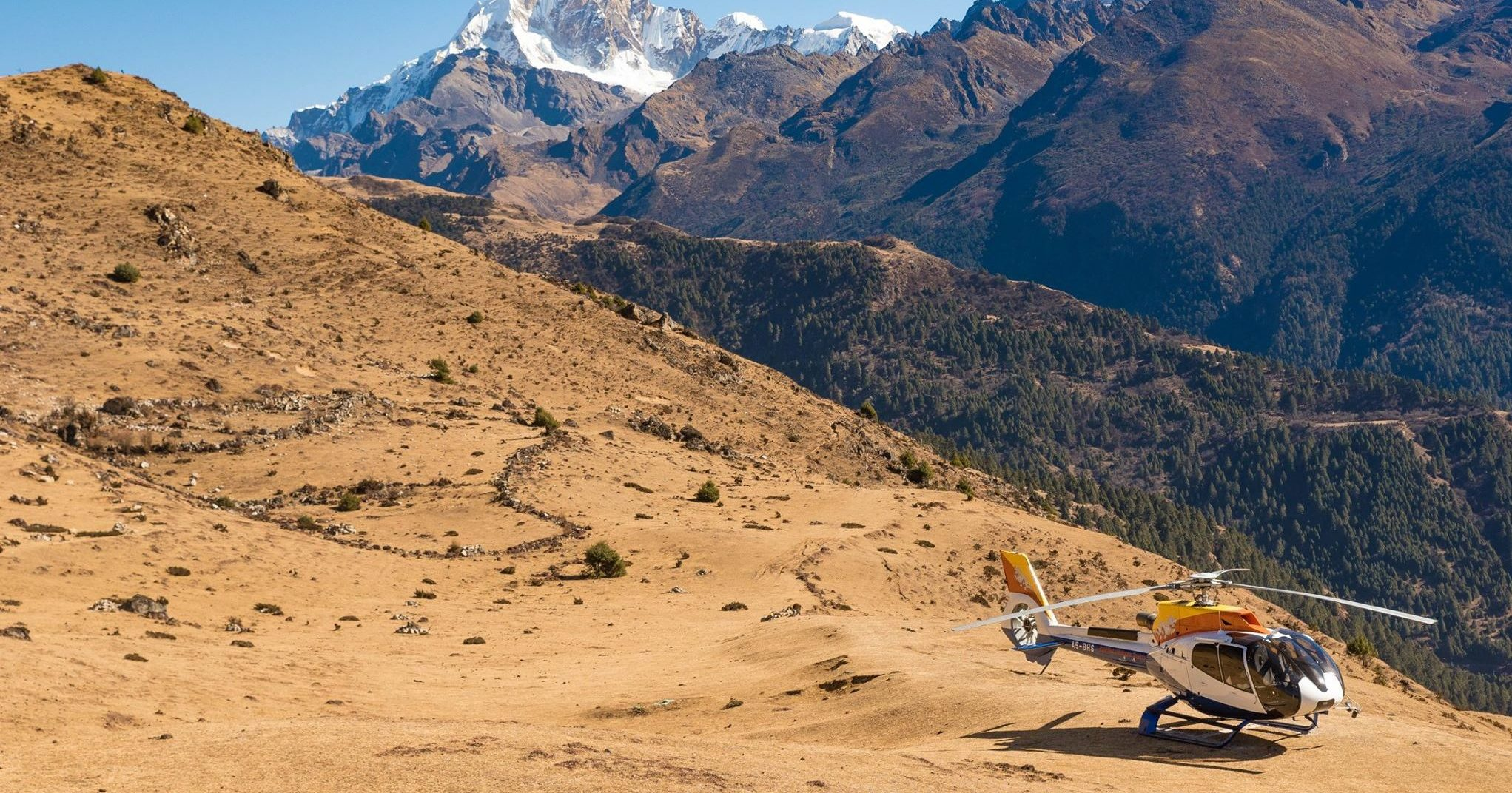 Nestled between two gigantic neighbors – China and India – the tiny Himalayan nation of Bhutan is a majestic, serene and beautiful country that's admired not for its gross domestic product but for its gross national happiness index.