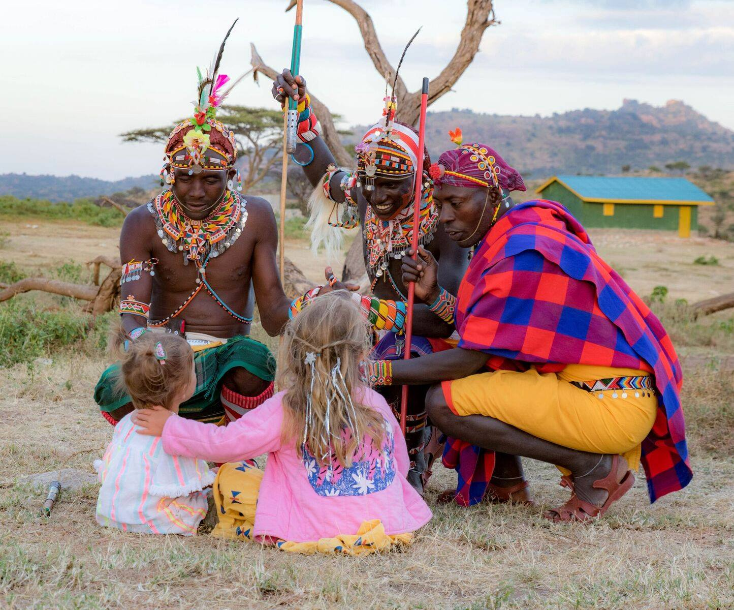 One British couple offers travellers to Kenya the chance to combine their luxury safari with meaningful contributions to local communities.