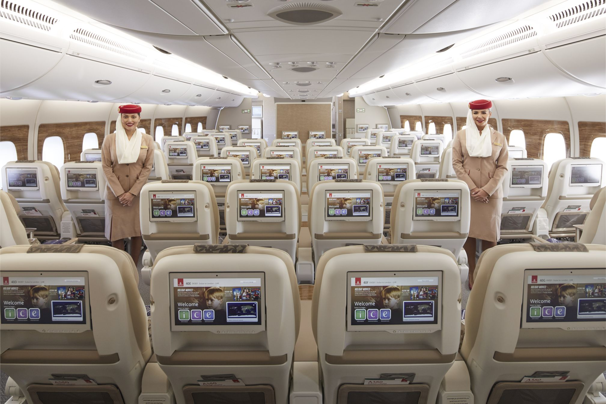 Dubai's Emirates Airlines adds luxurious new premium economy product as part of new enhancements included on its newest A380 aircraft.