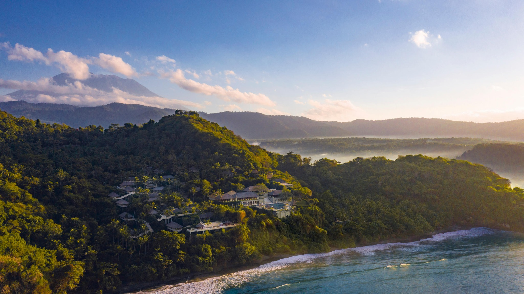Amankila, an iconic property on Bali's eastern flank, instills the exotic tranquility of the island's past while heralding in new levels of luxury for the romantically inclined.