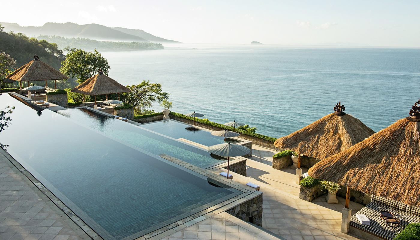 Amankila, an iconic property on Bali's eastern flank, instills the exotic tranquility of the island's past while delivering contemporary luxury for a lucky few.