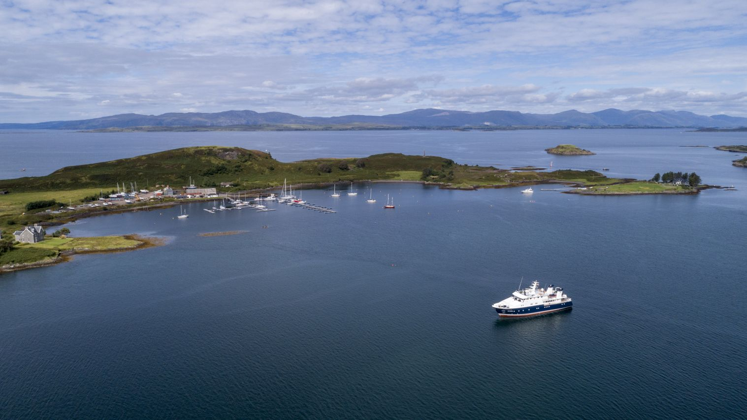 Embark on an unforgettable expedition through West Scotland and the Hebrides onboard explorer yacht Hanse Explorer with EYOS Expeditions.