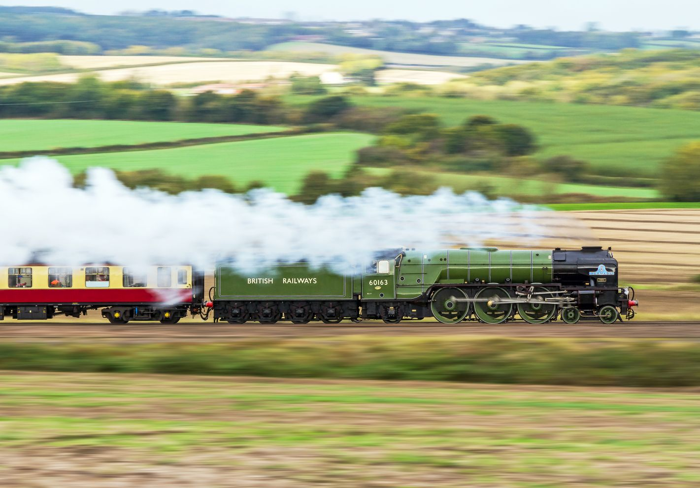 True trainophiles will love the new 14-day Best of Britain Steam Tour offered by Golden Eagle Luxury Trains.