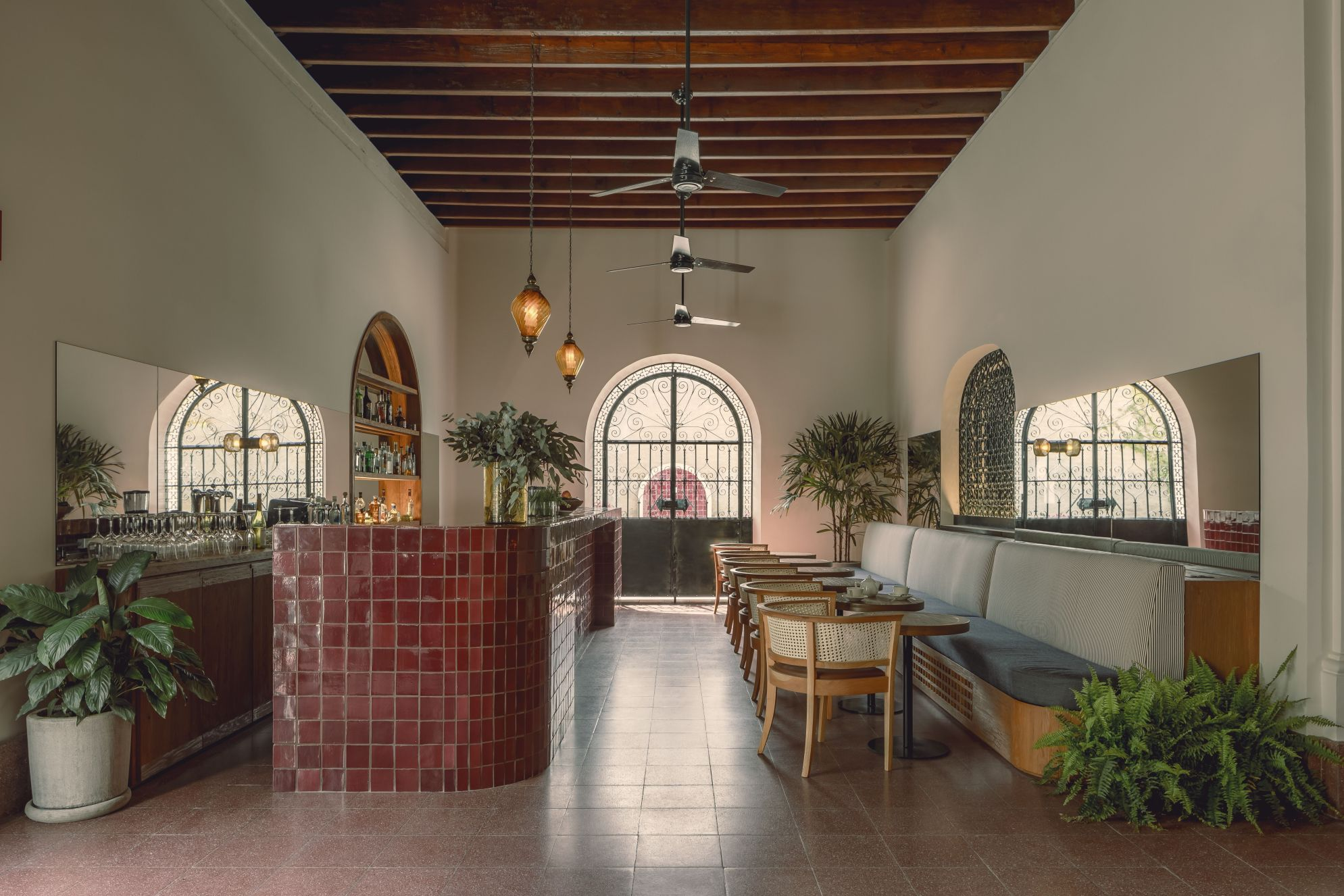Located on a beautiful plot of coastal boardwalk in the historic center of La Paz, Baja Club is Mexico's coolest new boutique hideaway.