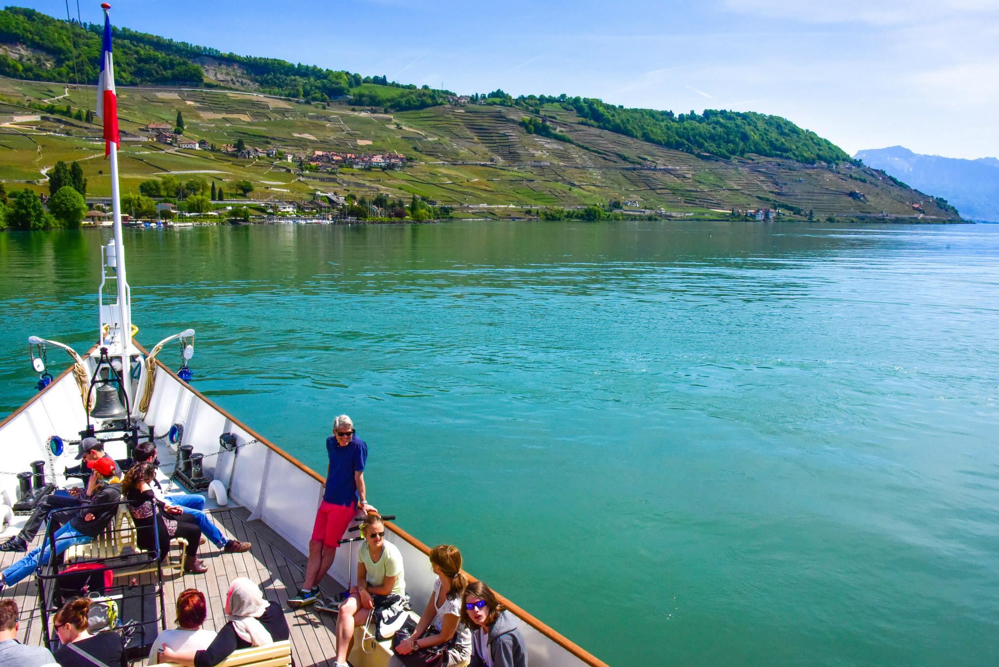 Belle Époque paddle steamboats