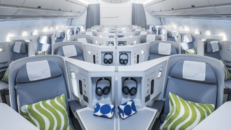 Finnair offers the fastest route between Hong Kong and Europe and does so using a state-of-the-art Airbus A350 aircraft, ensuring a truly luxurious encounter.
