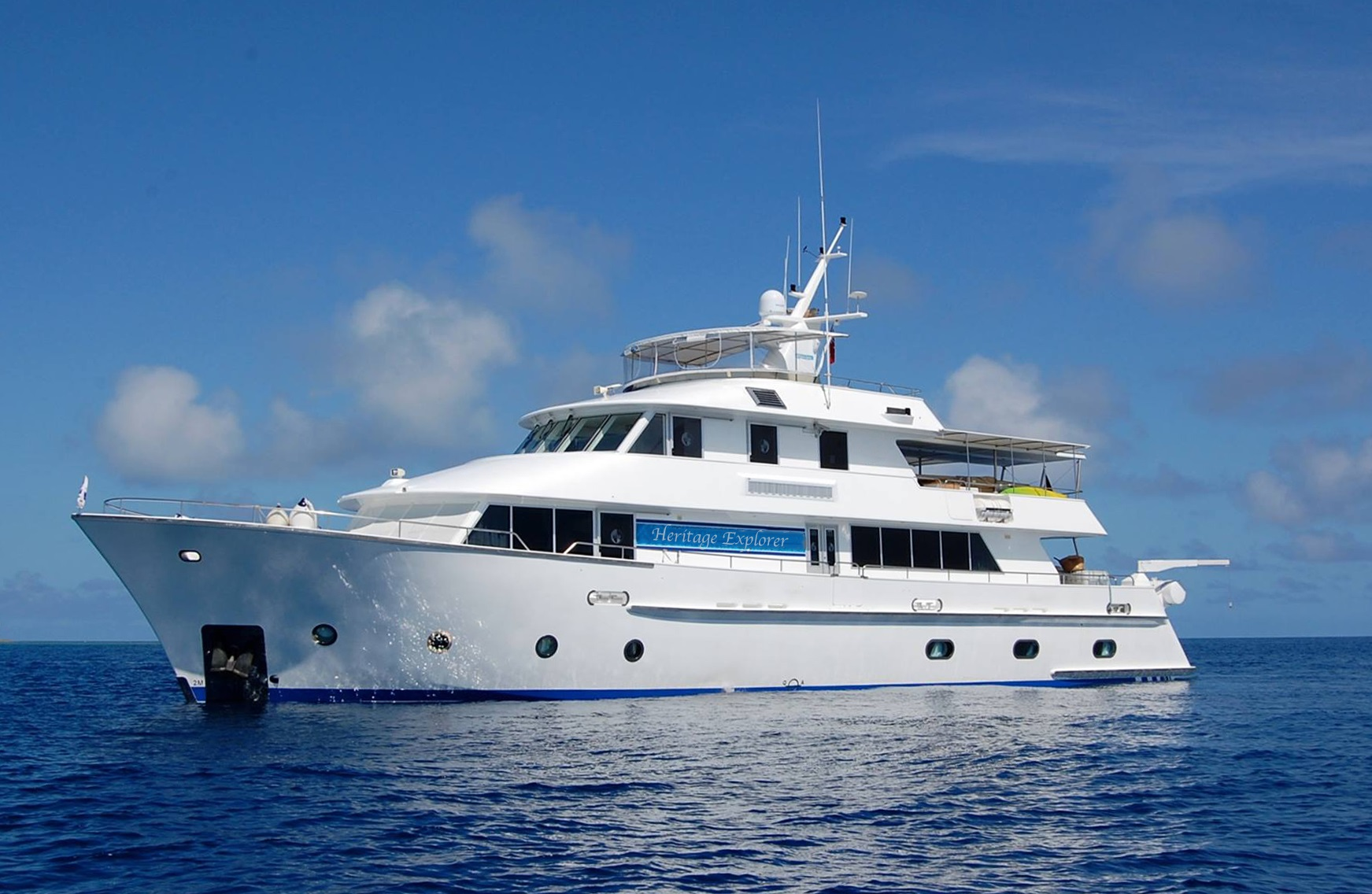 Pioneering New Zealand expedition cruise company Heritage Expeditions has added the 18-guest expedition yacht Heritage Explorerto its fleet.