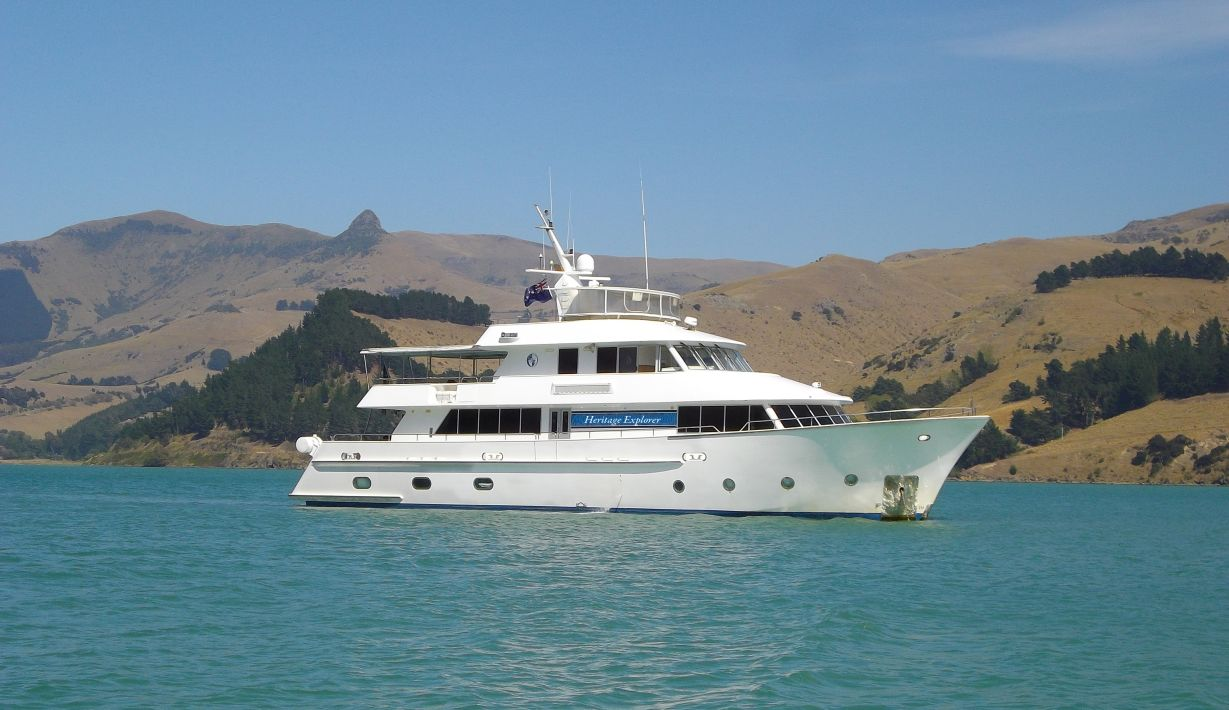 Pioneering New Zealand expedition cruise company Heritage Expeditions has added the 18-guest expedition yacht Heritage Explorer to its fleet.