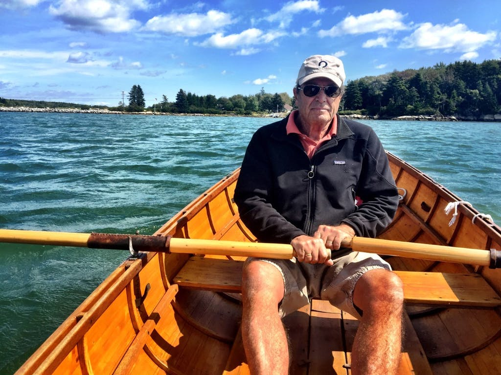 Paul Theroux enjoys many water activities, like rowing, canoeing and kayaking/Courtesy of Paul Theroux