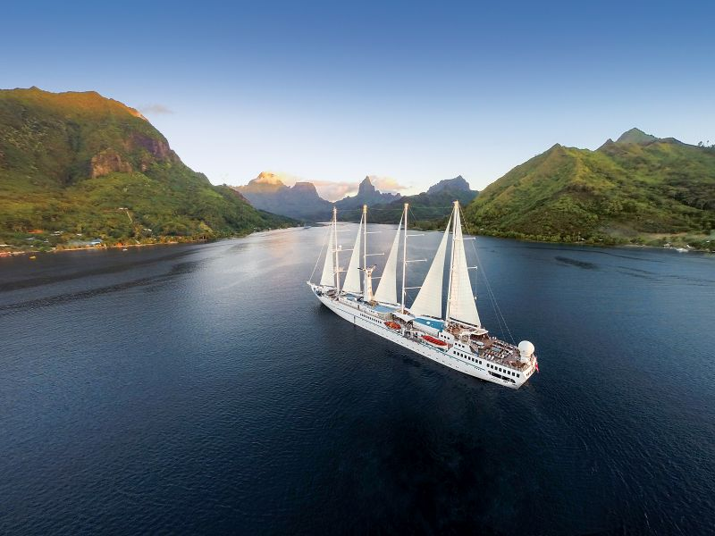 Until further notice, Windstar Cruises will require proof of a current Covid-19 vaccination for all guests sailing aboard Windstar's yachts.