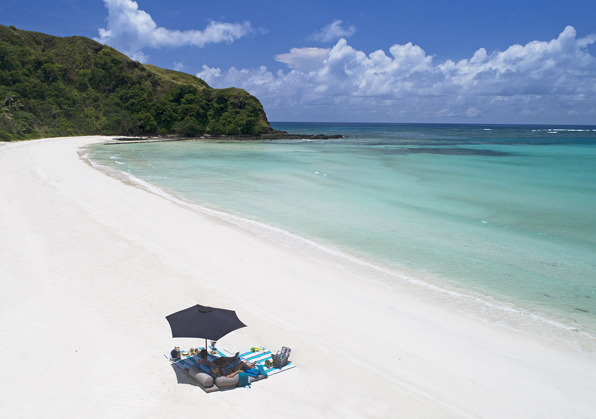 Nick Walton travels back in time with a visit to remote Yasawa Island, one of Fiji's most iconic island retreats.