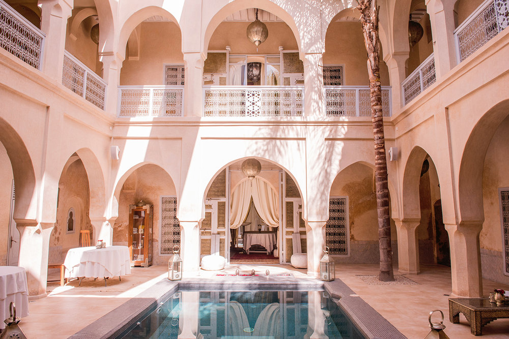 One of the hottest destinations for the year ahead, Marrakech is home to an abundance of chic and intimate boutique hideaways, each of which boasts the same flare and individuality that has made the city such a popular destination for affluent travelers. Here are some of our favorites.
