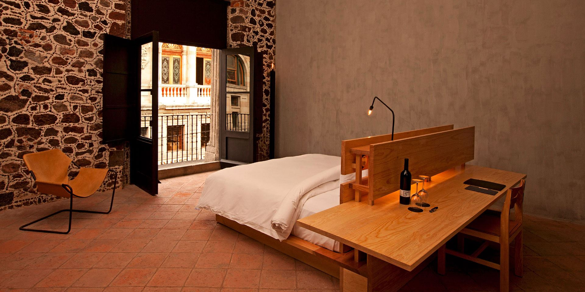 A trio of sophisticated, design-savvy boutique hotels is breathing life and color into the Mexican capital.