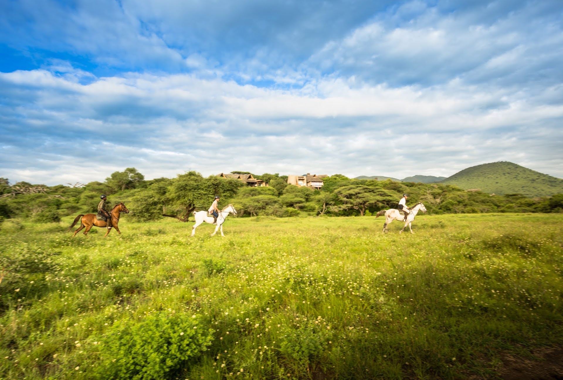 Exploring the Kenyan savannahs on an ol Donyp Lodge horseback safari is a truly thrilling experience and a unique alternative to game drives.