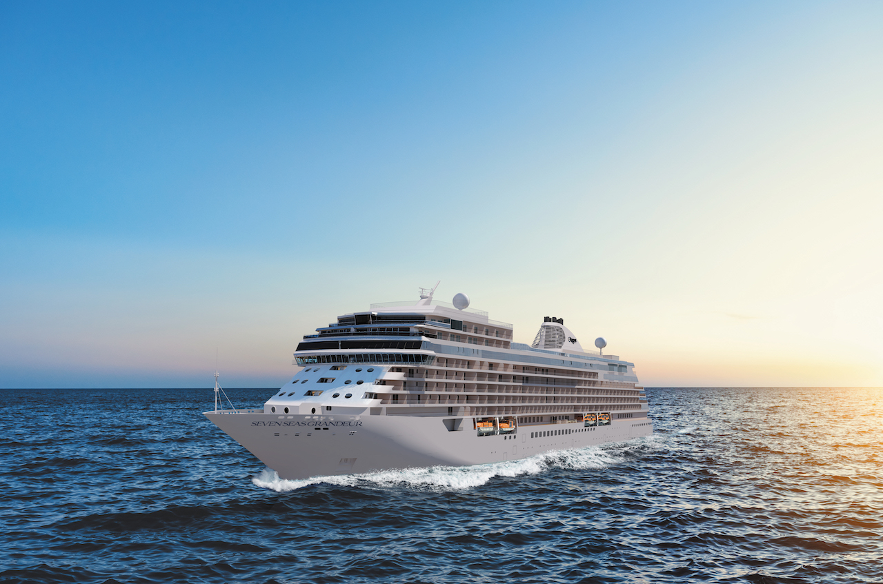 Regent Seven Seas Cruiseshas named its highly anticipated new ship theSeven Seas Grandeur, with the new vessel joining the fleet in 2023.