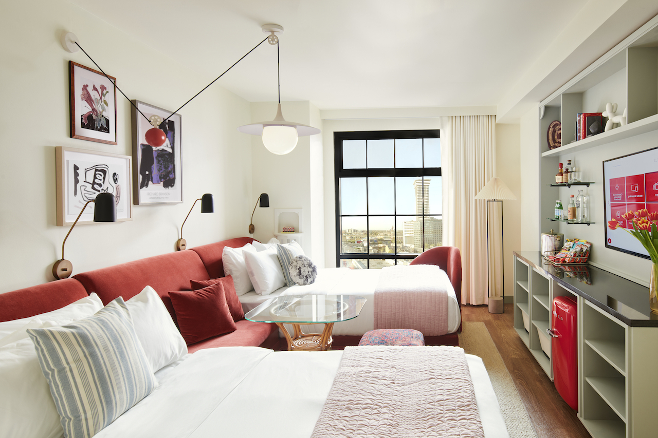 Virgin Hotels' newest house of slumber, Virgin hotels New Orleans, embraces the heart and soul of the city's fascinating Warehouse District.