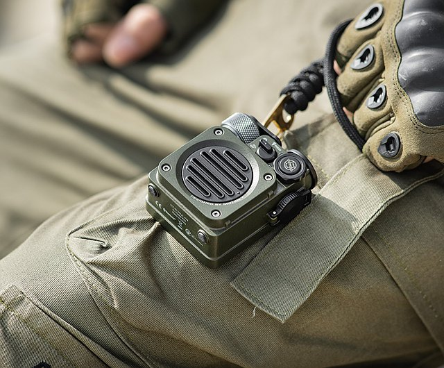 Audio brand Muzen has created the Wild Mini, a military-inspired, wireless speaker specifically designed to meet the rigors of outdoor adventure.
