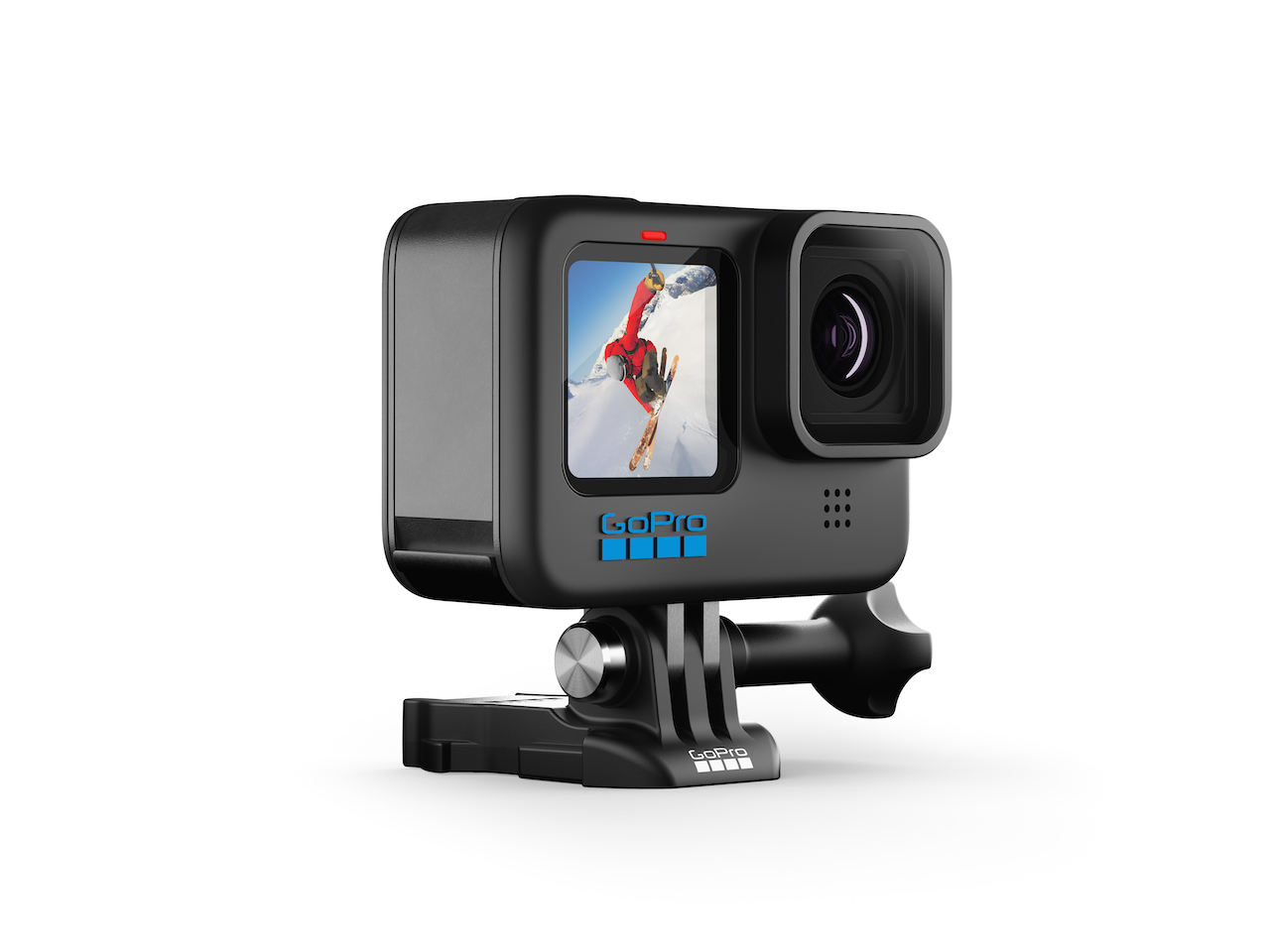 If you've got travel adventures on the mind, be sure to pack the new GoPro Hero 10 Black, which offers great quality stills and video in a tiny, rugged package.