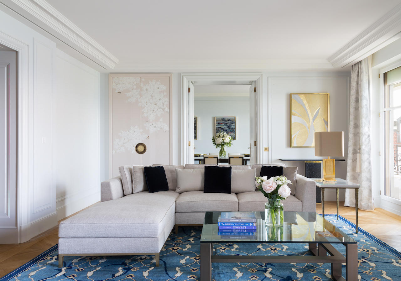 A historic transformation creates The Woodward, Geneva's first all-suite hotel designed by Pierre-Yves Rochon.