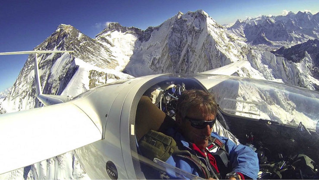 Have you ever dreamed of visiting the snow-capped peaks of Nepal? Have you ever wanted to hike through the towering Himalayas? How about soaring above them on an unforgettable, record-breaking glider flight?
